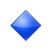 🔹 small blue diamond Emoji on Samsung Platform