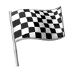 🏁 chequered flag Emoji on Samsung Platform
