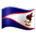 🇦🇸 flag: American Samoa Emoji on Samsung Platform