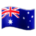 🇦🇺 flag: Australia Emoji on Samsung Platform