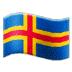 🇦🇽 flag: Åland Islands Emoji on Samsung Platform