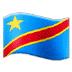 🇨🇩 flag: Congo – Kinshasa Emoji on Samsung Platform