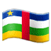 🇨🇫 flag: Central African Republic Emoji on Samsung Platform