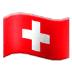 🇨🇭 flag: Switzerland Emoji on Samsung Platform