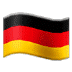 🇩🇪 flag: Germany Emoji on Samsung Platform