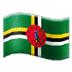 🇩🇲 Dominica Flag Emoji on Samsung Platform