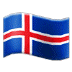 🇮🇸 flag: Iceland Emoji on Samsung Platform