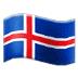 🇮🇸 flag: Iceland Emoji on Samsung Platform