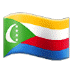 🇰🇲 flag: Comoros Emoji on Samsung Platform