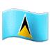 🇱🇨 flag: St. Lucia Emoji on Samsung Platform