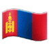 🇲🇳 flag: Mongolia Emoji on Samsung Platform