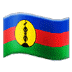 🇳🇨 flag: New Caledonia Emoji on Samsung Platform