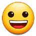 😀 grinning face Emoji on Samsung Platform