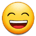 😄 grinning face with smiling eyes Emoji on Samsung Platform