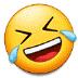 🤣 Tumbado en el suelo por la risa Emoji en la plataforma Samsung