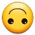 🙃 倒置的脸 三星平台的表情符号