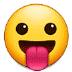 😛 face with tongue Emoji on Samsung Platform