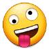 🤪 मसखरा चेहरा सैमसंग प्लेटफ़ॉर्म पर इमोजी