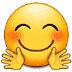 🤗 Faccina Che Abbraccia Emoji sulla Piattaforma Samsung