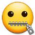 🤐 zipper-mouth face Emoji on Samsung Platform