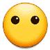 😶 face without mouth Emoji on Samsung Platform