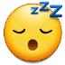 😴 잠자는 얼굴 삼성 플랫폼 이모티콘