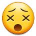 😵 dizzy face Emoji on Samsung Platform