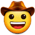 🤠 cowboy hat face Emoji on Samsung Platform