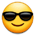 😎 Smiling Face With Sunglasses Emoji on Samsung Platform