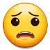😟 Visage Inquiet Emoji sur la plateforme Samsung