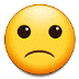 🙁 slightly frowning face Emoji on Samsung Platform