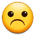 ☹️ frowning face Emoji on Samsung Platform