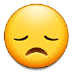 😞 disappointed face Emoji on Samsung Platform