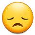😞 Disappointed Face Emoji on Samsung Platform