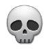 💀 骷髅头骨 三星平台的表情符号