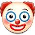 🤡 clown face Emoji on Samsung Platform