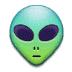 👽 alien Emoji on Samsung Platform