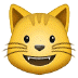 😺 grinning cat Emoji on Samsung Platform
