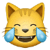 😹 Cat With Tears of Joy Emoji on Samsung Platform