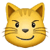 😼 cat with wry smile Emoji on Samsung Platform