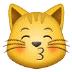 😽 kissing cat Emoji on Samsung Platform