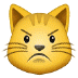 😾 pouting cat Emoji on Samsung Platform