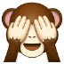 🙈 see-no-evil monkey Emoji on Samsung Platform
