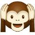 🙉 hear-no-evil monkey Emoji on Samsung Platform