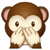 🙊 speak-no-evil monkey Emoji on Samsung Platform