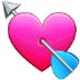 💘 heart with arrow Emoji on Samsung Platform