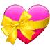 💝 heart with ribbon Emoji on Samsung Platform