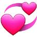 💞 revolving hearts Emoji on Samsung Platform