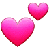 💕 two hearts Emoji on Samsung Platform