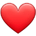 ❤️ red heart Emoji on Samsung Platform